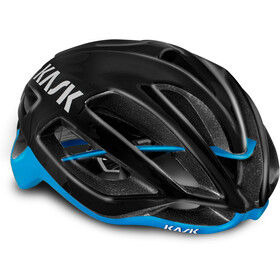 Kask Protone Kask rowerowy, black/light blue